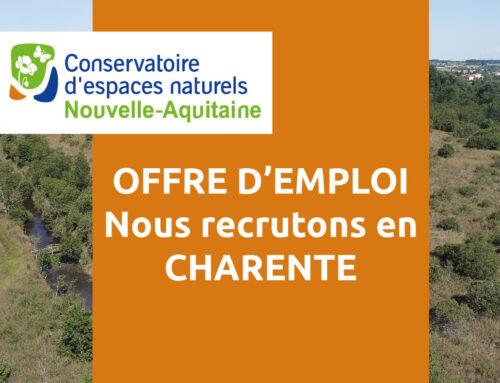Offre d'emploi : un-e chargé(e) de mission – CDD – Angoulême (16)