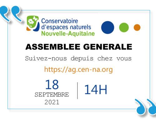 ASSEMBLEE GENERALE 2021 – 18 SEPTEMBRE – 14h