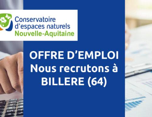 Offre d'emploi – assistante(e) comptable en CDD à Billère (64)