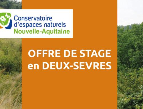 Offre de stage : 5 mois en Deux-Sèvres – évaluation et réactualisation du document de gestion
