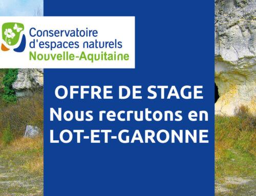 Offre de stage : révision d'un document d'objectifs – Lot-et-Garonne (47)